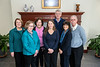Members of the Retirees Association Board pose for photographs at the Erickson Alumni Center February 28th, 2019.  Photo Brian Persinger
