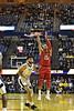 WVU Men's Basketball action Vs Texas Tech January 2,2019. Photo Greg Ellis