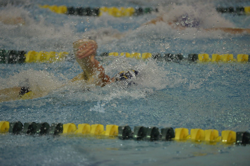 WVU Swimming and Diving teams competed against TCU on January 12, 2018.