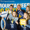 WVU student helpers pose for a picture.
