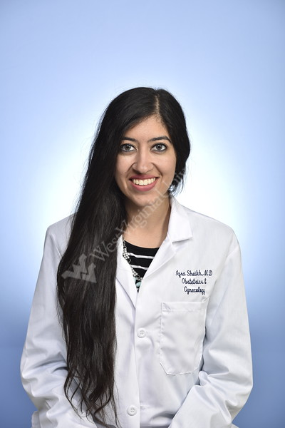 Iqra Sheikh poses for photographs at the Health Sciences Center studio June 20th, 2019.  Photo Brian Persinger