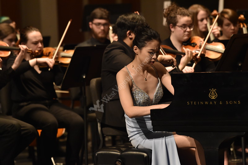 Young artists of WVU showcase their talents at the Lyell B. Clay Theatre on March 6, 2019.