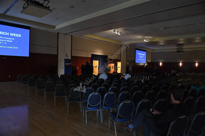 WVU President Gordon Gee speaks during the 2019 Spring State of the University at The Erickson Alumni Center, March 19th, 20t9.  Photo Brian Persinger