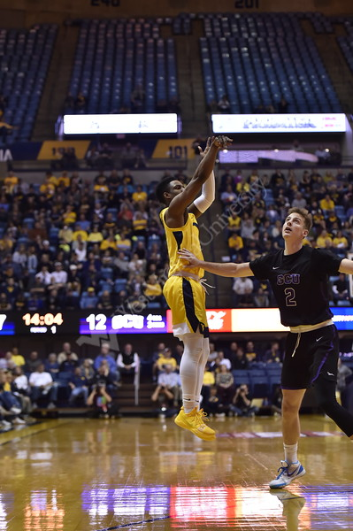 The Mountaineers played Grand Canyon University in the first rount of the CBI Tournament.
