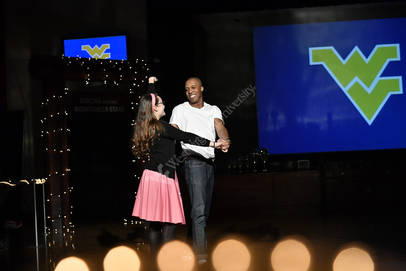 Dancing with tthe Mountaineer Stars was held in the Mountainlair Ballrooms on March 2, 2019.