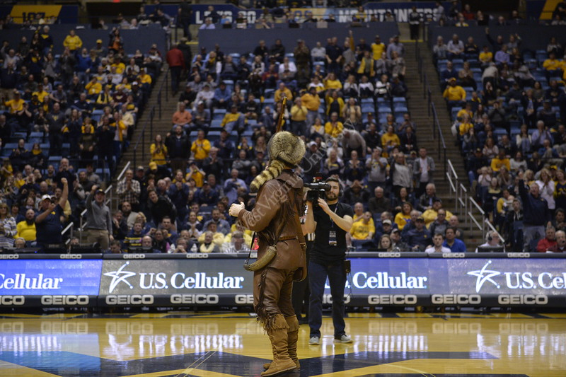 The Mountaineers played their final home game of the season against Iowa State on March 6, 2019.
