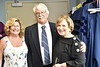 WVU Alumni and HODC recipient Jay Chattaway poses for a picture with his wife (L) Terry Chattaway and WVU Blaney House visiting committee member (R) Pat Bibbee at the WVU CAC May 10, 2019. Photo Greg Ellis