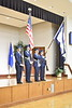 Newly commissioned second lieutenant family and friends take part in the WVU Air ROTC Commissioning Ceremony May 10, 2019. Photo Greg Ellis