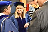 35604 May Statler Commencement Honorary Degree Recipient Sharon Flanery is awarded an HODC at the Statler Commencement WVU Coliseum May 11, 2019. Photo Greg Ellis