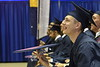Statler College May Commencement brings graduates, family and friends together at the WVU Coliseum to celebrate graduates achievements, May 11, 2019. Photo Greg Ellis May 2019