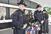 Fallen officers from around the United States are  honored with a national wreath laying ceremony including WVU, WV state, Morgantown Police and the Monongalia County Sheriff's Department, May 15, 2019. Photo Greg Ellis