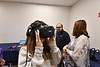 The Rockefeller Neuroscience Institute hosts tours for partners, collaborators, staff and faculty in their new building on the Health Sciences Campus May 17th, 2019.  Photo Brian Persinger