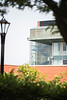 Corner of Life Sciences Building photogaphed from Woodburn Circle May 29, 2019. Photo Parker Sheppard