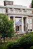 Front of Oglebay Hall photogaphed at West Virginia University's downtown campus May 29, 2019. Photo Parker Sheppard