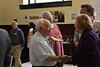 The WVU community comes together to celebrate Dr. Emory L. Kemp and his work displayed at the WVU Downton Library in the collection, The Structure of History, Celebrating Industrial Heritage and Preservation, May 31, 2019. Photo Greg Ellis