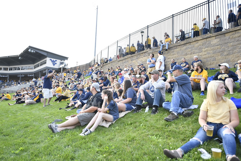 WVU Baseball faced off against Fordham in their first game of the NCAA Regional on May 31, 2019 at Monongalia County Ballpark. Photo Parker Sheppard