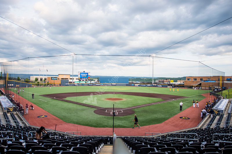 Monongalia County Ballpark before the first game of the NCAA Regional on May 31, 2019. Photo Parker Sheppard