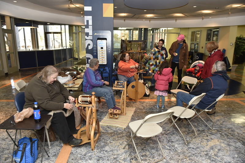 Artisans, Students, and community members came together during WVU's Arts and Craft Fair – a part of Mountaineer Week. The Arts and Crafts fair was held in and around the Mountainlair, November 2, 2019.