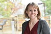 Kristin Moilenan, Associate Professor, Child Development and Family Studies, College of Education and Human Services pose for an environmental portrait at the WVU College of Education and Human Services, Allen Hall on the Evansdale campus Morgantown WV November 7, 2019 (WVU Photo/Greg Ellis)
