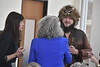 """Rosemary Hathaway, Folklorist and Assoc. Prof. of English talks about her upcoming book, """"Mountaineers Are Always Free"""" in the Mountainlair November 8th, 2019.   (WVU Photo/Brian Persinger)"""