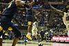 WVU's basketball team took on Akron November 8, 2019. (WVU Photo/Parker Sheppard)