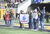 The Mountaineer Football teams hosts Texas Tech at Mountaineer Field November 9th, 2019.  (WVU Photo/Brian Persinger)