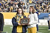 Most Loyals awards were given out during half time of the WVU vs Texas Tech game on November 9, 2019. (WVU Photo/Parker Sheppard)
