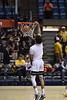 The WVU Men's Basketball team took on Northern Colorado at the Coliseum November 18, 2019. (WVU Photo/Parker Sheppard)