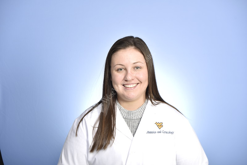 36230 OBGYN Dr. Shayla Cech WVU Medicine poses for a portrait at the HSC studio November 21, 2019. (WVU Photo/Greg Ellis)