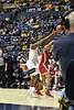 WVU Men's Basketball action WVU Men vs  Boston University November 22, 2019. (WVU Photo/Greg Ellis)
