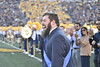WVU and Texas went head-to-head on October 5, 2019. The crowd striped the stadium with blue and gold and the 2019 Homecoming King and Queen was announced on this day at the Milan Puskar Stadium. (WVU Photo/ Hunter Tankersley)