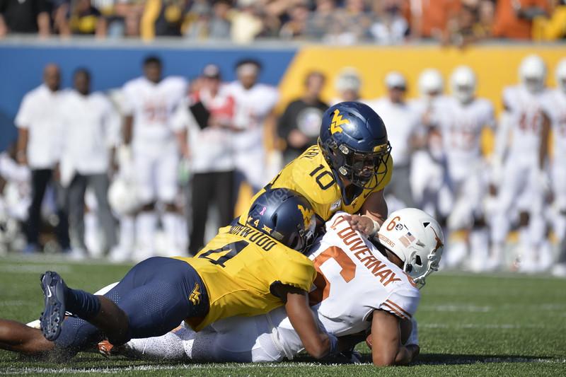 WVU Football faced off against Texas at Mountaineer Field October 5, 2019. (WVU Photo/Parker Sheppard)