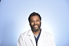 Craig Jones II , MD Emergency Medicine poses for a portrait at the HSC studio October 10, 2019. (WVU Photo/Greg Ellis)
