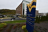 The exterior of One Waterfront Place October 25th, 2019.  (WVU Photo/Brian Persinger)