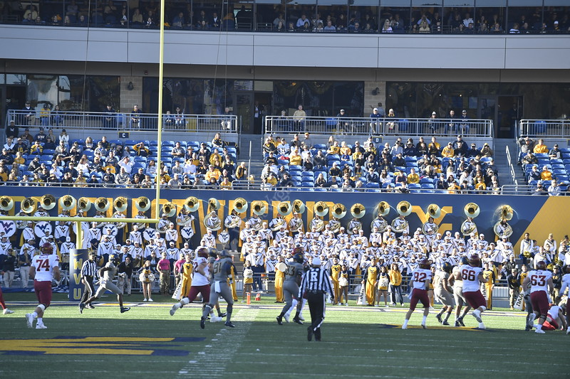 The Mountaineer Football Teams hosts Iowa State at Mountaineer Field October 12th, 2019(WVU Photo/Brian Persinger)