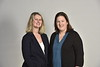 L to R, Cara Sedney, Associate Professor, School of Medicine, Department of Neurosurgery and Treah Haggerty, Associate Professor, School of Medicine, Department of Family Medicine members of the Opioid Bill  Research Group pose for a photo at the HSC studio October 15, 2019. (WVU Photo/Greg Ellis)