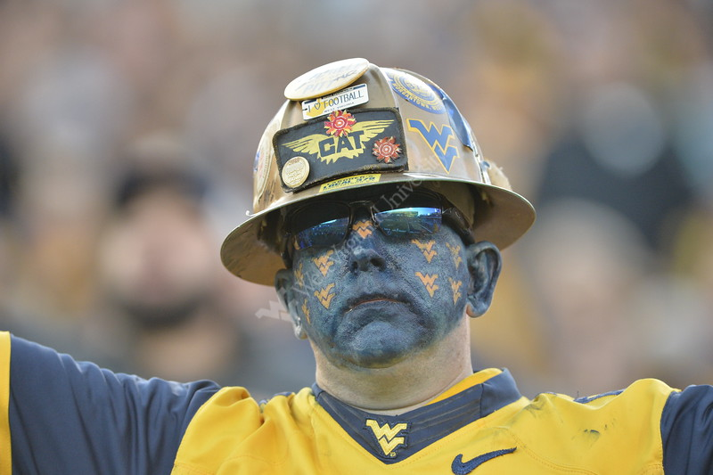 The Mountaineer Football Team hosted Iowa State on October 12, 2019 at Mountaineer Field. (WVU Photo/Parker Sheppard)