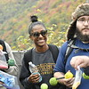 WVU MDS students take part in the MDS Blackwater Canyon Field Trip October 20, 2019. (WVU Photo/Greg Ellis)