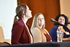 WVU students of the WVU John Chambers College of Business and Economics  listen to and interact with presenters at the Chambers College Professional Development Conference October 25, 2019. (WVU Photo/Greg Ellis)