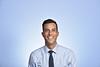 Justin Kupec Internal Medicine WVU Medicine poses for a portrait at the HSC studio September 5, 2019. (WVU Photo/Greg Ellis)
