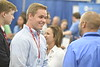 Students in the Statler College of Engineering and Mineral Sciences attend the Statler College Career Fair in the Rec Center September 12th, 2019.  (WVU Photo/Brian Persinger)