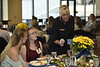 Donors, students, and faculty of WVU's School of Nursing eat dinner together and present scholarships. The event was held in Terrace Towers on September 11, 2019.