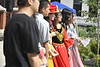 Students participate in the 2019 International Street Festival on High Street September 15th, 2019.  (WVU Photo/Brian Persinger)
