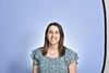 Megan Thornberg poses for a portrait at the HSC studio, August 27, 2020. (WVU Photo/Greg Ellis)