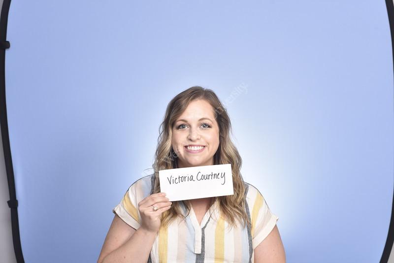 Victoria Courtney poses for a portrait at the HSC studio, August 27, 2020. (WVU Photo/Greg Ellis)