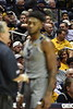 WVU Men's Basketball action vs  Iowa State Febuary 5, 2020. (WVU Photo/Greg Ellis)