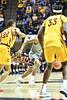 WVU Men's Basketball action vs  Iowa State Febuary 5, 2020. (WVU Photo/Greg Ellis)