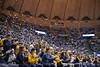 WVU Men's Basketball took on Iowa State on February 5, 2020 in the Coliseum. (WVU Photo/Parker Sheppard)