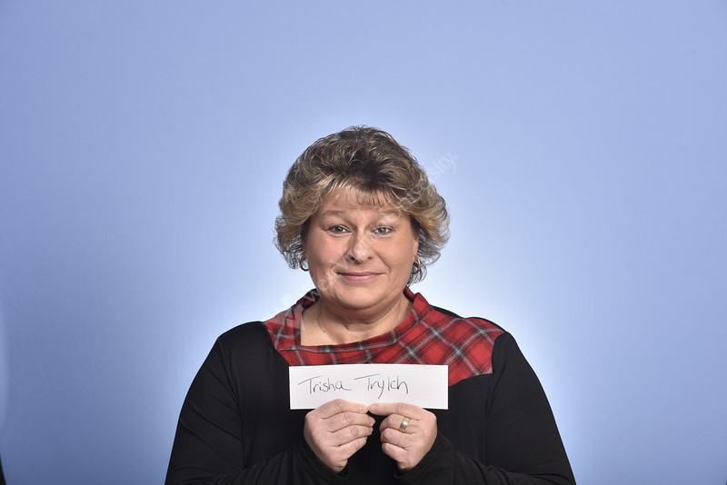 Trisha Trylch - Administrative Assistant poses for  Observation, Dialsysis, Leadership, team portraits at the HSC studio February 11.2020. (WVU Photo/Greg Ellis)