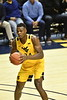 WVU Men's Basketball action VS Kansas February 12, 2020. (WVU Photo/Greg Ellis)